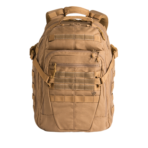 Mochila Táctica Specialist 1 día color Coyote  |  First Tactical