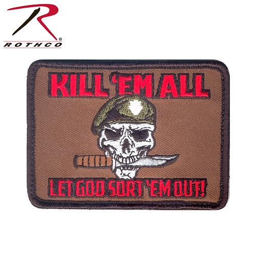 Parche Kill Em All  |  ROTHCO