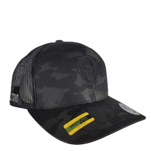 Gorra Táctica Multicam Black Logo All Black  |  PTYTS
