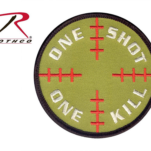 Parche One Shot One Kill  |  ROTHCO