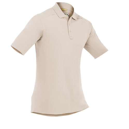 Polo Táctica color Khaki  |  First Tactical