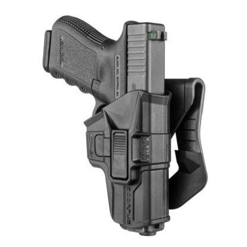 Funda Táctica Scorpus M1 Glock color Negro  | FAB Defense