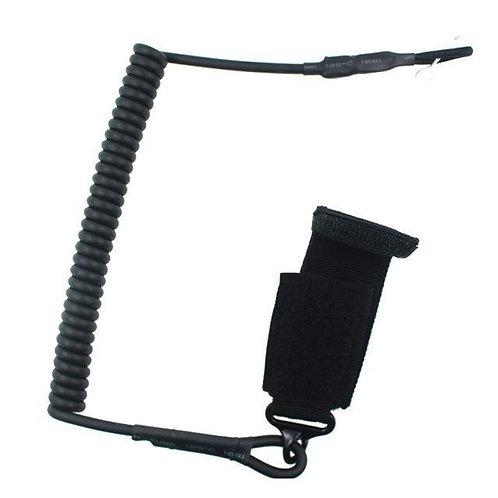 Cordón de Seguridad para pistola color Negro  |  PTYTS