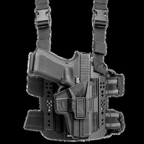 Funda Táctica Muslera MTR Glock color Negro    FAB Defense