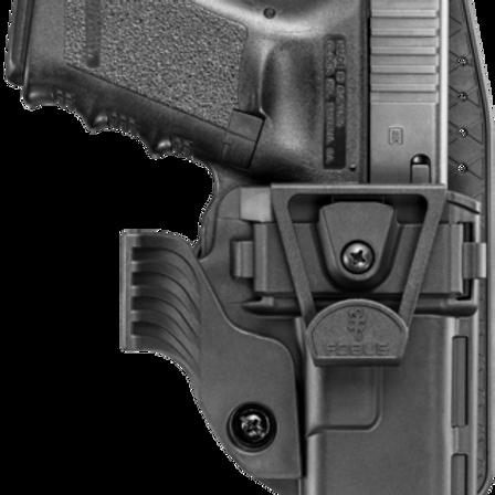Funda táctica interna APN19 (Glock 19/23)  | Fobus