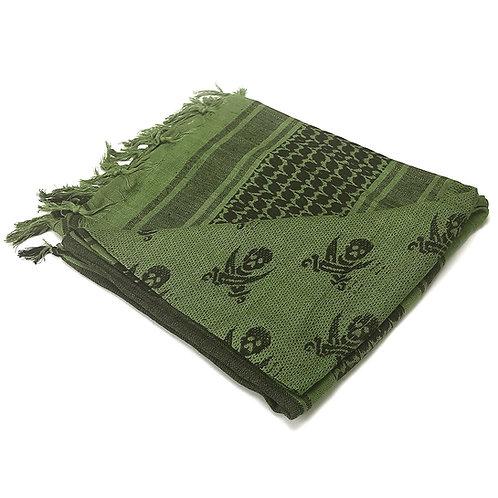 Shemagh Táctica color Verde/Calavera  |  Condor Outdoor