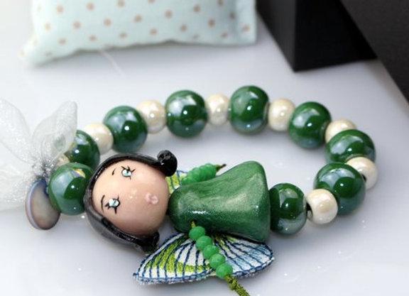 Bracelet Miss butterfly