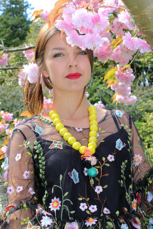 Collier céramique jolie Yoko