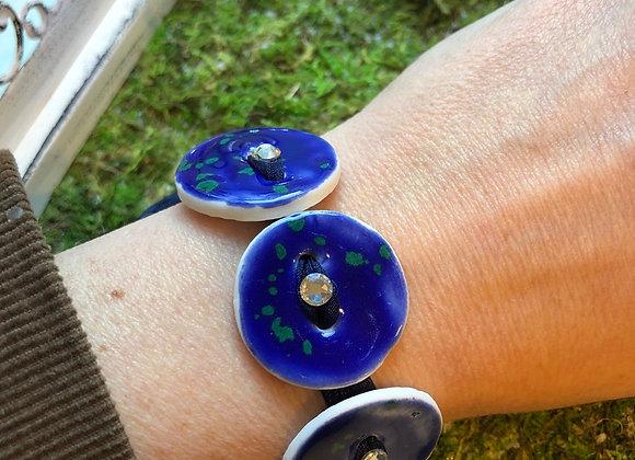 Bracelet céramique Swarovski