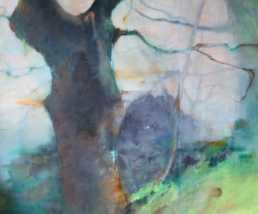 Habitation (oil on canvas)