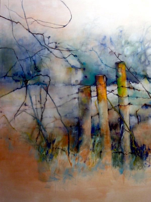 Glanced (oil on canvas)