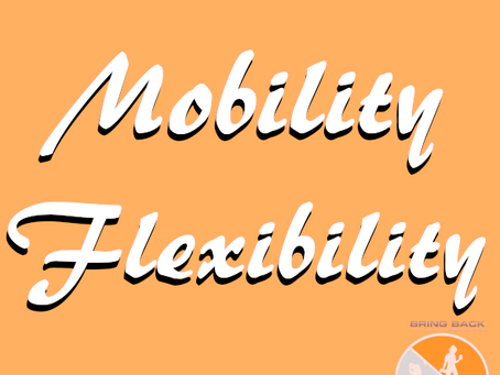 Mobility and flexibility: it actually matters.