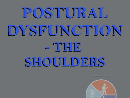 Postural Dysfunction – The Shoulders