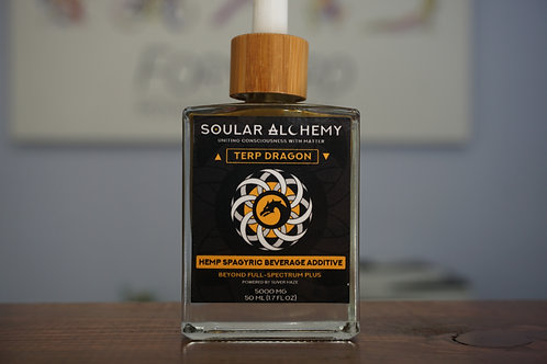 Terp Dragon - Soular Alchemy Spagyric Hemp Infusion - 50ml