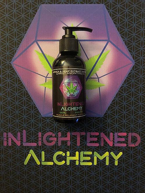 Inlightened Alchemy Massage oil - 4oz.