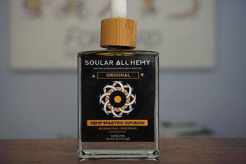 Original - Soular Alchemy Spagyric Hemp Infusion - 50ml