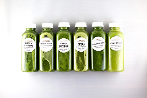 5-DAY GREEN CLEANSE