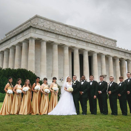 Paul and Elena Bailey Wedding, Published in the Washingtonian Magazine