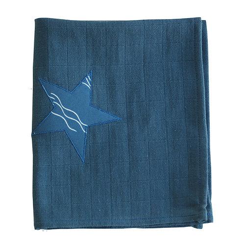 Lange bébé - Bleu