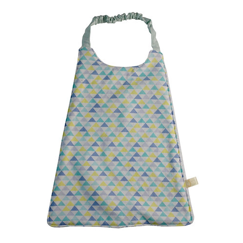 Serviette de table élastique en stok - Motifs triangles