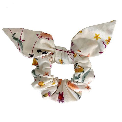 Chouchou noeud - fleuri 3