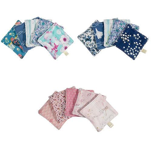Lingettes lavables Eponge  - Lot de 5