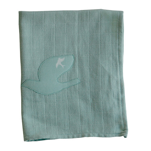 Lange bébé - Vert amande