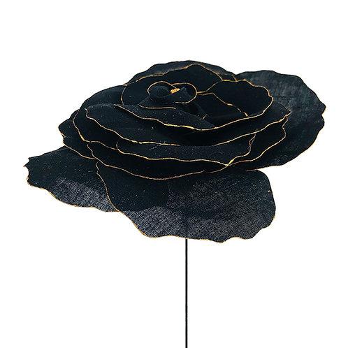 Lisianthus noir et doré