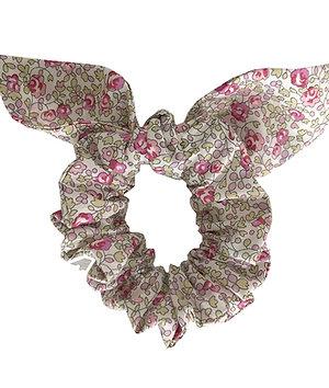 Chouchou noeud - Liberty Eloïse rose