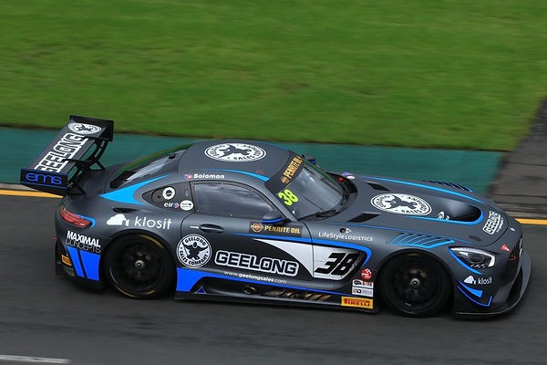 Matt Solomon racing in Mercedes-AMG GT3