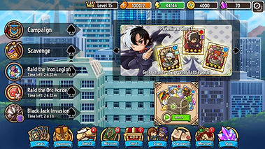 Black Jack and Crazy Defense Heroes_Scre