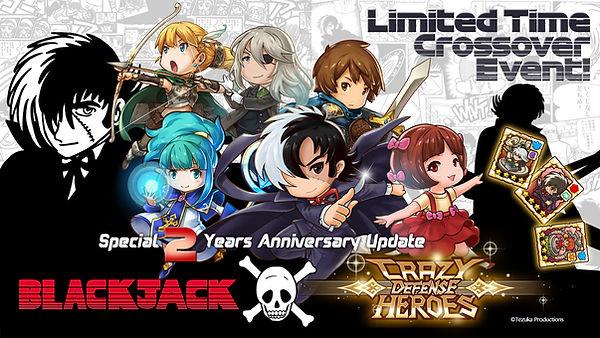 Black Jack and Crazy Defense Heroes_Prom