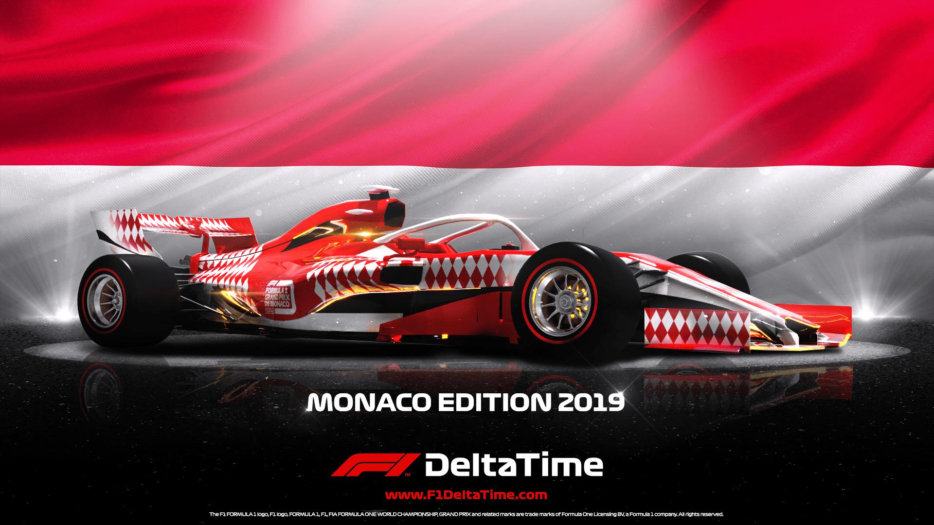 F1 grand prix monaco 2019