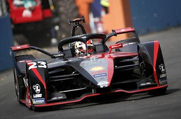 Sebastien Buemi (Nissan e.dams) drives t