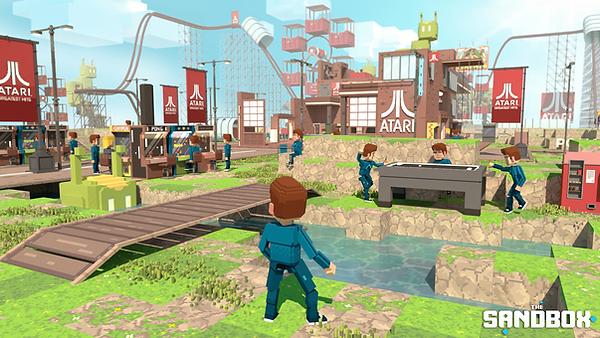 The Sandbox - Atari Land Game Preview-mi