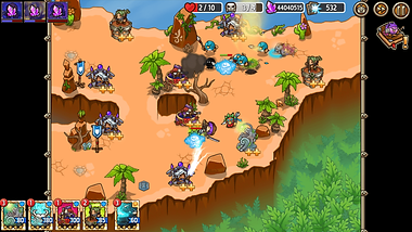 Crazy Defense Heroes Screenshot 3-min.pn