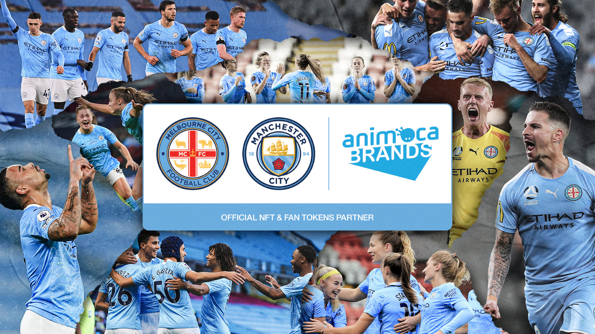 Manchester City And Melbourne City FC Team Up with Animoca Brands on New  Games