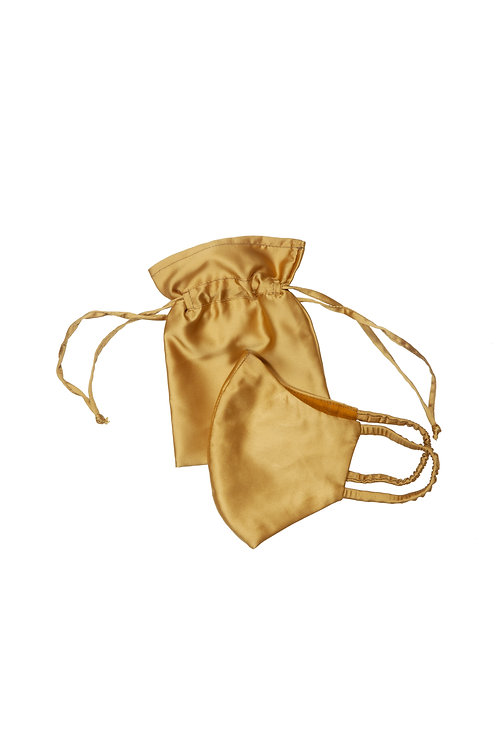 Mustard Gold Face Mask