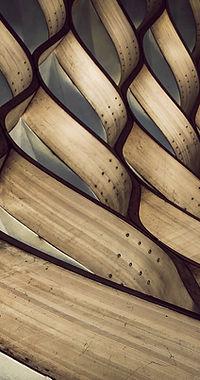 Деревянная структура