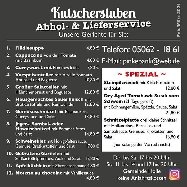 2021-02-17 Abhol und Lieferservice Kutsc