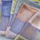 Thumbnail: Twill block towels muted spring Heather and neon brights