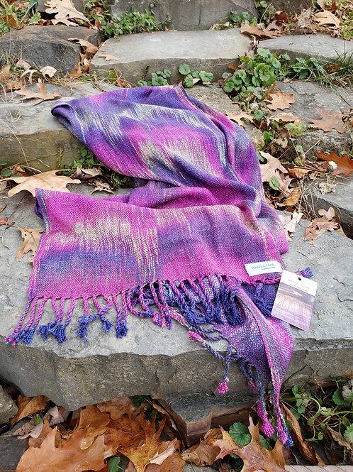 Wide scarf w1