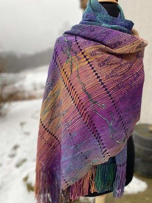 Chaparral shawl