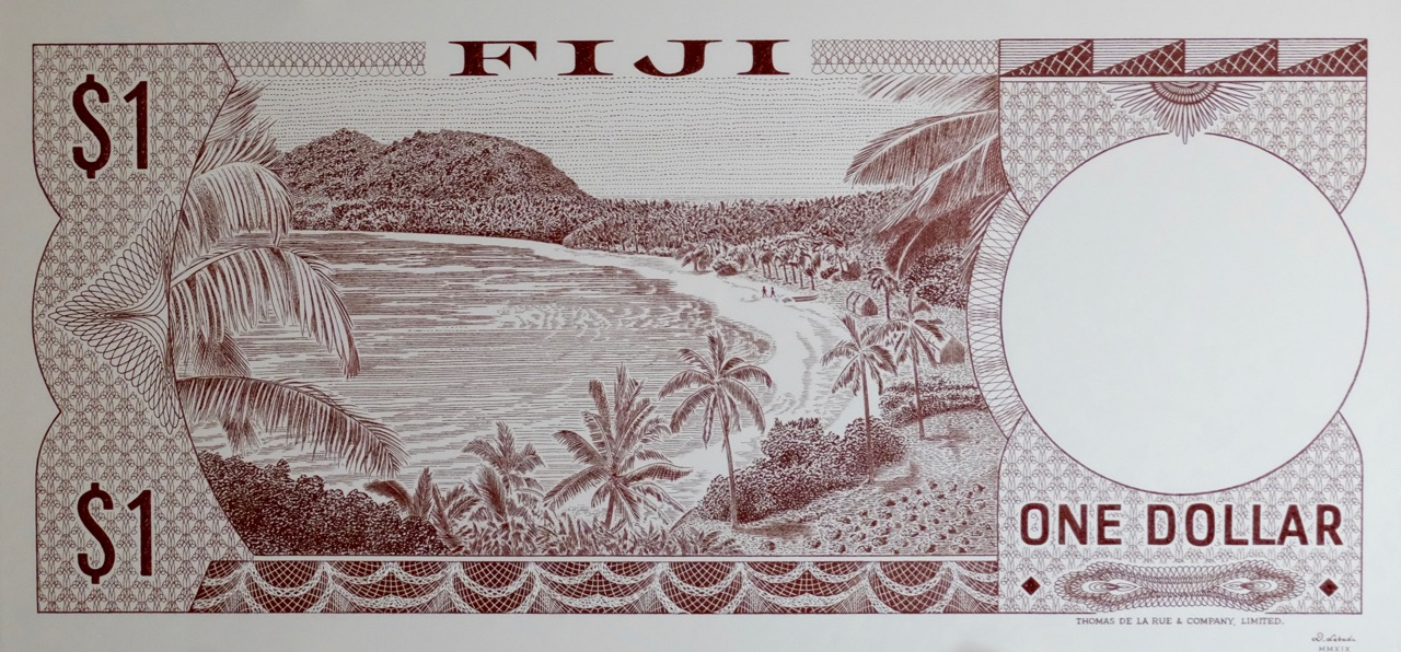 Fiji One Dollar 1974