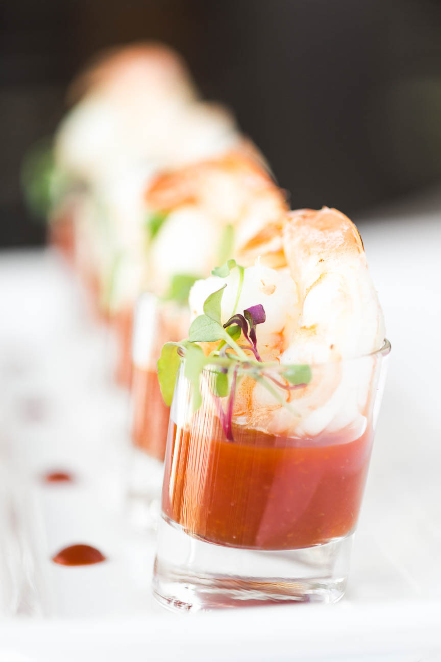 image of shrimp cocktail at Greenville, SC restaurant