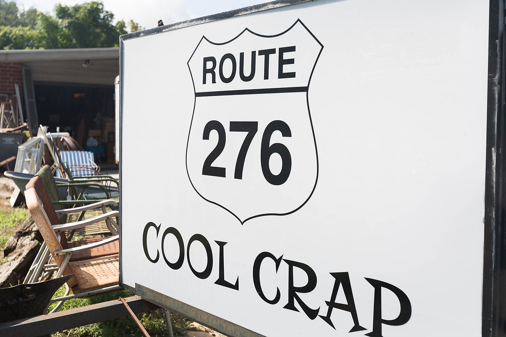 Route 276 shop sign