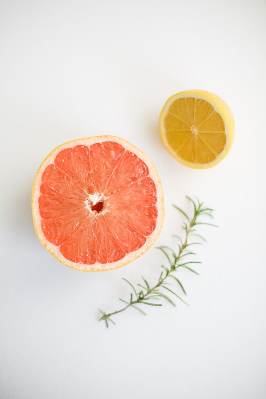 citrus fruits, portrait of fruit, food photography