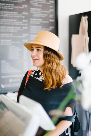 Jessica-Murnane-orders-food-at-Gnome-Caf