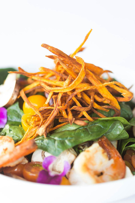 Shrimp-salad-with-sweet-potato-at-City-R