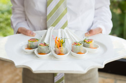 Appetizer at Wedding Reception Image